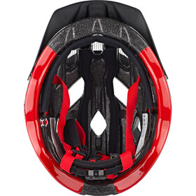 UVEX Active Kask rowerowy, anthracite/red
